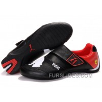 Men's Puma Baylee Future Cat II In Black/White/Red For Sale WWpTYi