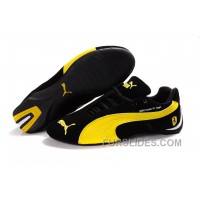 Puma BMW Shoes BlackYellow Christmas Deals 68jMp3c