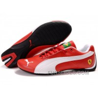 Mens Puma Future Cat Brazil Edition In Red/White Online ZPHHa