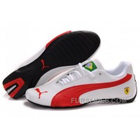 Mens Puma Future Cat Brazil Edition In White/Red Online PjX2fF