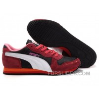 Puma Cabana Racer II LX Sneakers RedWhitePink Authentic NrA5C