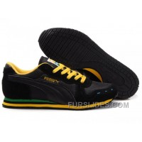 Cheap To Buy Puma Cabana Racer II LX Sneakers BlackYellow KRnfca