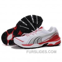 Men's Puma Complete Vectana In Silver Red Top Deals G8eyeX