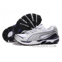 Puma Complete Vectana Shoes WhiteSilverPurple 1181 For Sale F4NraC2
