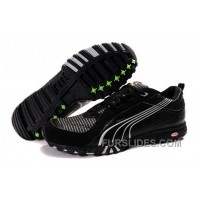 Puma Complete Vectana Shoes BlackSilver 890 Discount YMa5m