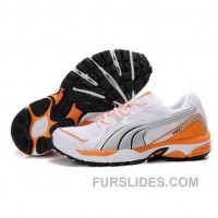 Men's Puma Complete Vectana In Silver Orange Discount DmDJBy