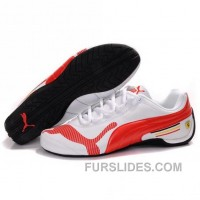 Top Deals Women's Puma Drift Cat IV In White-Red KAF6FFi