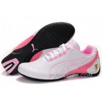 Top Deals Puma Drift Cat Iii Shoes White/Pink W5yJR3T