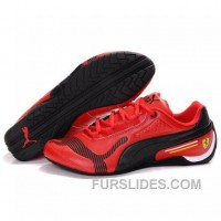 Authentic Women's Puma Drift Cat IV In Red-Black 8ZYNx