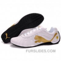 Top Deals Women's Puma Drift Cat III In White-Gold FBGZ8S