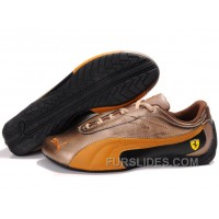 Women's Puma Drift Cat II Ferrari Brown/Orange/Black Discount TnZ8f