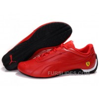 Women's Puma Drift Cat II Ferrari Red/Black Authentic JkRcA