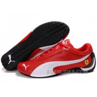 Men's Puma Drift Cat II Ferrari In Red/White/Black Free Shipping MbQM8