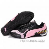 Mens Puma Drift Cat II SF Black-Pink-White For Sale TnDQxC