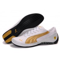 Men's Puma Drift Cat II SF In White/Golden For Sale SEnPP