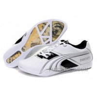Mens Puma Ducati In White/Black/Gray Discount RXWJR3