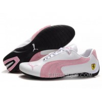 Online Puma Engine Cat Low Shoes White/Pink Mrssm8