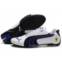 Puma Engine Cat Low Shoes White/Blue Lastest PrWkiP2