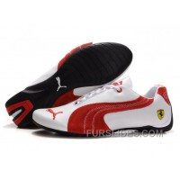 Puma Engine Cat Low Shoes White/Red For Sale NGeM4