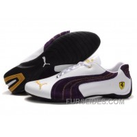 Puma Engine Cat Low Shoes White/Purple Online 5sPDKt