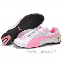Puma Engine Cat Low Shoes In White Pink For Sale 65zEe