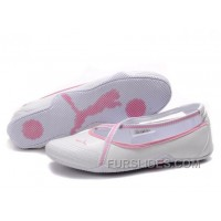 Puma Espera Iii Dazzle Trainers White/Pink Christmas Deals Mnynnk
