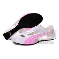 Puma Espera Ii Sequins White/Pink Top Deals FpxE2EX