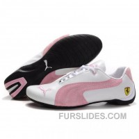 Christmas Deals Women's Puma Ferrari White Pink 01 D7sYYs3