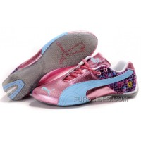 Women's Puma Ferrari In Pink/Blue/Gray For Sale XRYDx
