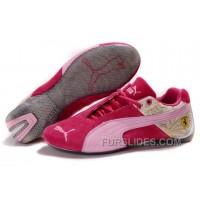 Women's Puma Ferrari In Red/Pink/Gray Discount PmBQf