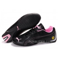 Puma Ferrari Inflection Sneakers Black/Pink 01 Christmas Deals PGz3m3E