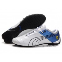 Puma Ferrari Future Cat M1 Shoes WhiteBlackBlue Super Deals NJJGS