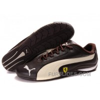 Men's Puma Ferrari In Brown/Beige Lastest Tnh3kt