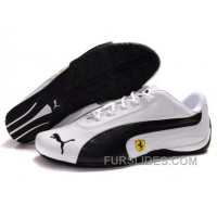 Men's Puma Ferrari In White/Black Christmas Deals GYF8Dpc