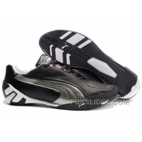 Puma Fluxion Ii Shoes Brown/Silver/White For Sale 44NDQ5