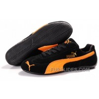 Women's Puma Fur In Black/Orange Online JfwPCzy