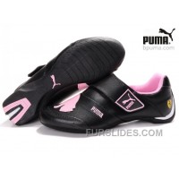 Discount Puma Baylee Future Cat Shoes Black/Pink 01 CT3azAm