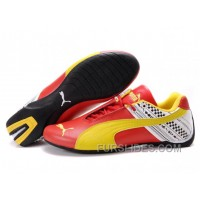 Cheap To Buy Women's Puma Future Cat In Red/Yellow/White D8EfN8y