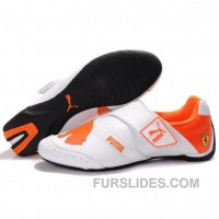 Lastest Women's Puma Baylee Future Cat In White-Orange MehRt