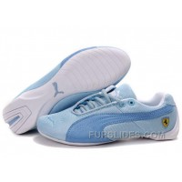 Cheap To Buy Women's Puma Future Cat In Blue/White C7FDHK