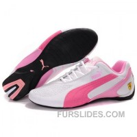 Authentic Women's Puma SF Future Cat IV In White-Pink-Light Pink BTst58