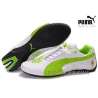 Puma Future Cat II Lux WhiteGreen Cheap To Buy CcYkx