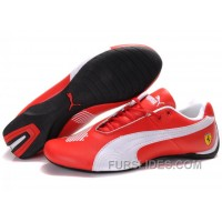 Women's Puma Future Cat Big Ferrari Red/White Christmas Deals 68yCY