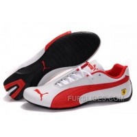 Women's Puma Future Cat GT Ferrari White/Red Christmas Deals NGESwWi