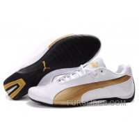 Puma Future Cat Low Shoes WhiteGold Free Shipping SSyz5