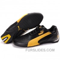 Puma SF Future Cat IV In Black-Yellow Cheap To Buy XwYDARF