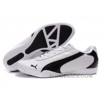 Mens Puma Future Cat In White/Black Christmas Deals XdxR8rx