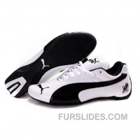 Mens Puma Future Cat Ferrari In White-Black Super Deals XcCQR