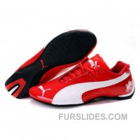 Online Mens Puma Future Cat Ferrari In Varsity Red-White Q5HZmQQ