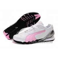 Top Deals Women's Puma Grit Cat III White/ Pink/Gray PQaaMR